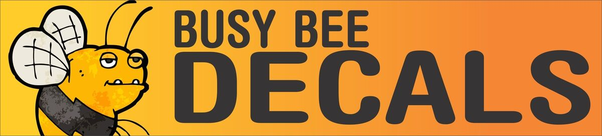 BUSY BEE DECALS