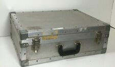 Vintage Aluminum Suitcase Equipment Case