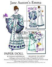 Reprint - Jane Austen'S Emma Paper Doll - Donald Hendricks