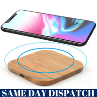 Fast Charging For iPhone 11 8 XR XS X XS MAX Qi Wireless Charger Dock Pad Mat UK