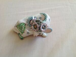 BASIL MATTHEWS NICKY THE CALF COW HAND MADE HAND PAINTED SIGNED NO 27 WALES