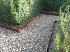 150mm High Metal Garden Edging Corten Steel Pre Rusted Price Per Metre