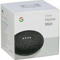 Google Home Mini Smart Speaker - Charcoal Black GA00216-US Google Assistant NEW™