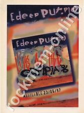 Deep Purple Live at The Olympia '96 LP Advert