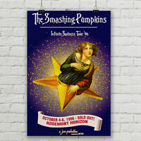 "Smashing Pumpkins Concert Poster Infinite Sadness Tour Canvas Art Print 18""x 27"""
