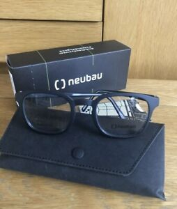 Silhouette Neubau Frames Adam T055/75 9010 48/22 Black Optical Eyeglasses New