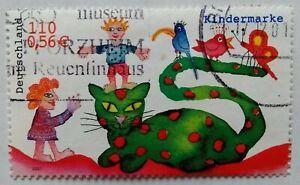Briefmarken BRD 2001, Mi.Nr. 2212 aus Block Nr. 55, gestempelt