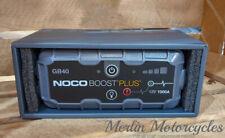 NOCO GB40 Boost Plus 1000 Amp 12v UltraSafe Lithium Jump Starter