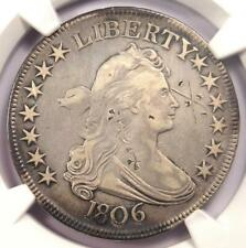 1806 Draped Bust Half Dollar 50C - NGC VF Details - Rare Certified Coin!