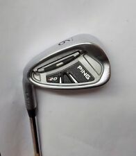 Polished Left Handed Ping i20 Green Dot 9 Iron CFS Stiff Steel Shaft