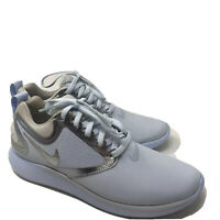 B1030 Nike Big Kids Lunarsolo Running Shoe Blue Tint/Off White Mtlc Silver US 5