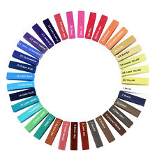 Non-toxic Hair Dye Chalk Galaxy 36 Shades Temporary Pastel Hair Salon Tint Pen