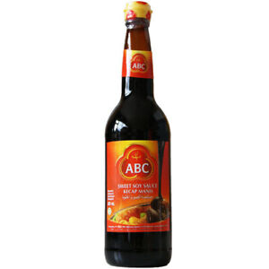 ABC KECAP MANIS SWEET SOY SAUCE - 620ML BOTTLE