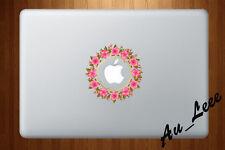Macbook Air Pro Skin Sticker Decal - Circular pattern flower  #CMAC060