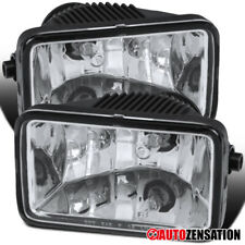 For 17-18 Ford F250 F350 F450 Clear Replacement Bumper Fog Lights Pair+H10 Bulbs