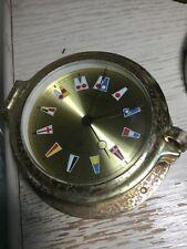 WEMPE-CORUM NAUTICAL QUARTZ CLOCK