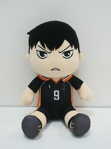 """Haikyuu!! Haikyu Deforme Tobio Kageyama T-arts Plush 8"""" Stuffed Toy Doll Japan"""