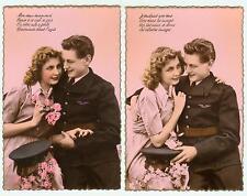 Série de 5 Cartes postales humoristiques  1930 - 1940    Aviation