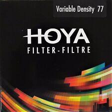 Hoya 77mm Variable Density 3-400 Lens Filter BRAND NEW UK STOCK