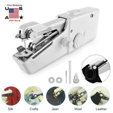 Portable Smart Mini Electric Tailor Stitch Hand-held Sewing Machine Home Travel!