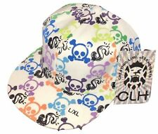 CLH Creating Limitless Heights Hat S/M Fitted Cap Urban Hip Hop Skulls