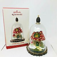 Hallmark Keepsake Christmas Ornament 2014 A Home for a Gnome