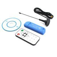 1X USB 2.0 Digital DVB-T SDR+DAB+FM HDTV TV Tuner Receiver Stick RTL2832U+R820T2