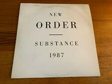 NEW ORDER SUBSTANCE DOUBLE LP (ORIGINAL 1987 PRESSING)