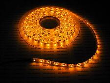 24v 24 voltios 5m NARANJA AMARILLO IMPERMEABLE LED STRIP TIRA CAMIÓN C4C2
