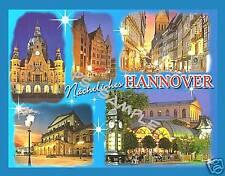 Germany - HANNOVER - Travel Souvenir Flexible Fridge Magnet