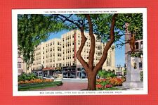 Los Angeles,CA California San Carlos Hotel, Fifth and Olive streets