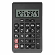 Helect Mini Calculator Compact Design Handheld Portable with Standard Function