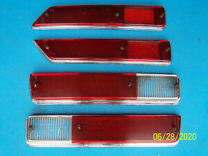 ALFA ROMEO SPRINT VELOCE GTV SEIMA TAIL LIGHT LENSES 4 PIECES