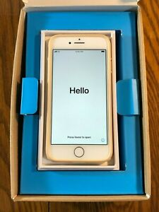 Apple iPhone 8 - 64GB - Silver (Unlocked) - with case and box