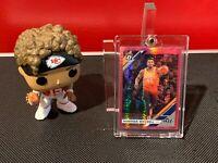 2019-20 Panini Optic Donovan Mitchell Pink Hyper Prizm #59 Refractor Utah Jazz!!