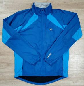 Pearl Izumi Mens Jacket Size Large Vagabond Blue