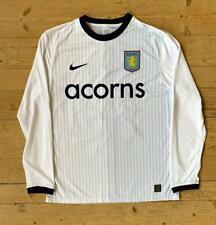 Aston Villa AVFC Nike 2009/10 Away Jersey Shirt New Large #19 Stiliyan Petrov