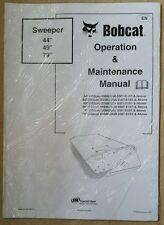 "Bobcat 44"" 49"" 79"" Manuale degli operatori Sweeper"