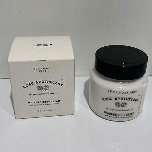 BRAND NEW Beekman 1802 Rose Apothecary Schitt's Creek Whipped Body Cream