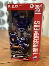 """New listing Soundwave Transformers Generations G1 R.E.D. Red 6"""" Figure Walmart Exclusive🔥🔥"""