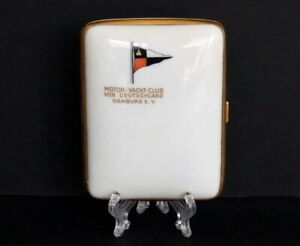 Sehr Selten - Rosenthal Porzellan Zigarettenetui - Motor Yachtclub
