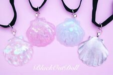 Seashell Mermaid Clam Shell Pastel Lolita Pretty Harajuku Choker Necklace