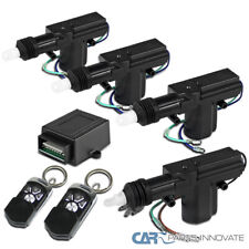 Central Car Power Door Lock Unlock Conversion Kit Auto Keylessremote Key Fob