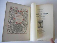 ABBE PREVOST, MANON LESCAUT, FRONTISPICE DE P. E.VIBERT, EDITION NUMEROTEE, 1913