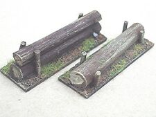 SGTS MESS SC22 1/72 Resin WWII One Log Barrier & Two Log Barrier-Two Each
