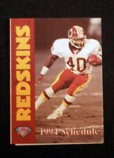 1994 Washington Redskins Mobil Pocket Schedule