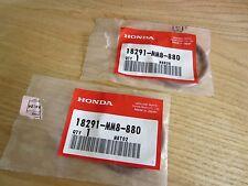 Honda NOS XLV XLV750 XLV750R 1x 91358-MG7-004 / 2x 18291-MM8-880 Ex. Pipe Gasket