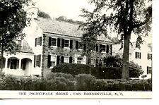 Principal's House-Home-Van Hornesville-New York-B/W Vintage Postcard