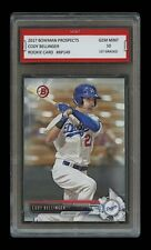 CODY BELLINGER 2017 BOWMAN PROSPECTS (Topps) 1ST GRADED 10 ROOKIE CARD DODGERS