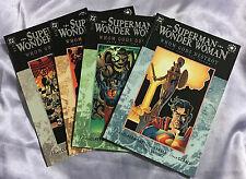 Superman Wonder Woman Whom Gods Destroy #1,2,3,4~Complete Series~TPB~DC~SET~NM